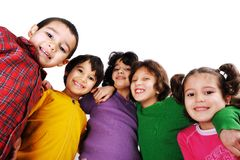 Mooie inocent kinderjaren stock foto
