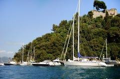 Portofino, Italië Stock Foto's