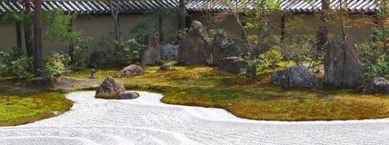 Mooie Japanse Tuin Stock Afbeeldingen