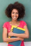 Mooie jonge Afrikaanse Amerikaanse student Stock Afbeelding