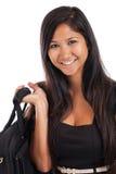 Mooie jonge Aziatische bedrijfsvrouw Royalty-vrije Stock Afbeelding