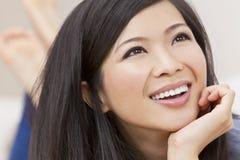 Mooie Jonge Aziatische Chinese Vrouw Stock Afbeelding