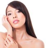 Mooie jonge Aziatische vrouw Royalty-vrije Stock Foto