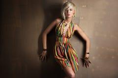 Mooie jonge blonde royalty-vrije stock afbeelding