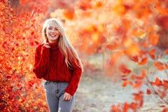 Mooie Jonge Blonde Vrouw royalty-vrije stock afbeelding
