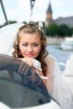 Mooie jonge bruid Stock Afbeelding