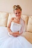 Mooie jonge bruid Royalty-vrije Stock Afbeeldingen