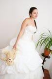 Mooie jonge bruid Royalty-vrije Stock Afbeelding