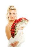 Mooie jonge bruid Royalty-vrije Stock Fotografie