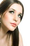 Mooie jonge brunette Royalty-vrije Stock Fotografie