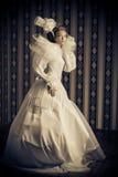 Mooie jonge dame Royalty-vrije Stock Afbeeldingen