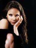 Mooie jonge latino vrouw stock afbeeldingen