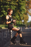 Mooie jonge meisjes sportieve verschijning Royalty-vrije Stock Fotografie