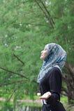 Mooie jonge muslimah Stock Fotografie