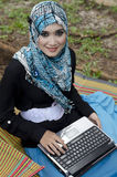 Mooie jonge muslimah royalty-vrije stock fotografie