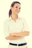Mooie jonge student, bedrijfsvrouw Royalty-vrije Stock Foto's
