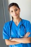 Mooie jonge verpleegster stock foto's