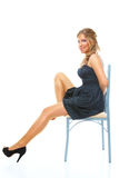 Mooie jonge vrouw Royalty-vrije Stock Foto's