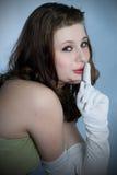 Mooie jonge vrouw Stock Afbeeldingen