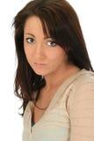 Mooie Jonge Vrouw Stock Afbeelding