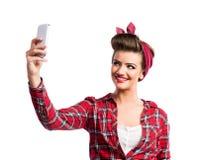 Mooie Jonge Vrouw Royalty-vrije Stock Afbeeldingen