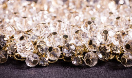 Mooie juwelen op achtergrond Stock Foto