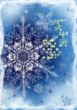 Mooie kaart als achtergrond voor Kerstmis Stock Foto