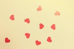 Mooie kaart voor de dag van Valentine ` s royalty-vrije stock afbeeldingen