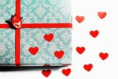 Mooie kaart voor de dag van Valentine ` s royalty-vrije stock foto