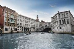 Mooie kanalen in Venetië. Italië Royalty-vrije Stock Fotografie