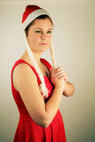 Mooie Kaukasische vrouw Stock Foto's