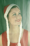 Mooie Kaukasische vrouw Royalty-vrije Stock Foto