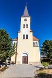 Mooie Kerk - Vrbice, Tsjechische Republiek Royalty-vrije Stock Foto's