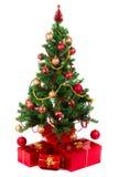 Mooie Kerstboom Stock Foto's