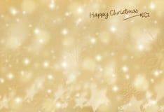 Mooie Kerstkaart Stock Afbeelding