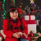 Mooie Kerstman Royalty-vrije Stock Afbeelding