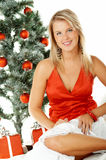 Mooie Kerstmis 1 Royalty-vrije Stock Afbeeldingen