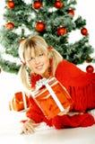 Mooie Kerstmis 1 Stock Foto's