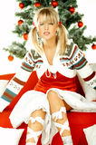 Mooie Kerstmis 1 Royalty-vrije Stock Fotografie