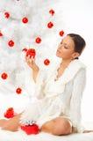 Mooie Kerstmis 2 stock afbeeldingen