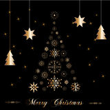Mooie Kerstmisboom Stock Fotografie
