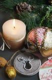 Mooie Kerstmisdecoratie Stock Afbeelding