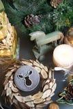 Mooie Kerstmisdecoratie Royalty-vrije Stock Foto