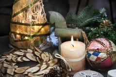 Mooie Kerstmisdecoratie Royalty-vrije Stock Foto's