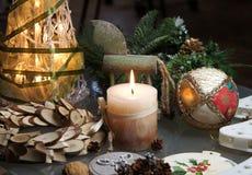 Mooie Kerstmisdecoratie Royalty-vrije Stock Afbeeldingen