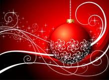 Mooie Kerstmisillustratie Stock Afbeelding