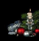Mooie Kerstmiskaart Stock Afbeeldingen