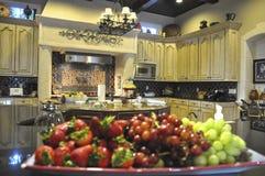 Mooie Keuken Royalty-vrije Stock Afbeelding