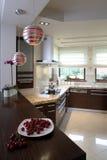 Mooie Keuken Royalty-vrije Stock Afbeeldingen