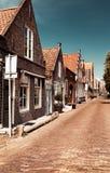 Mooie kleine huizen van Edam royalty-vrije stock foto's
